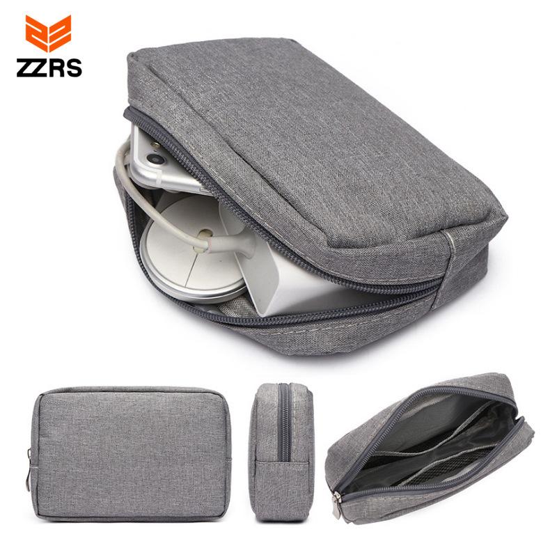 厂家直销数码配件收纳袋移动U盘耳机电源整理包鼠标数据线收纳包