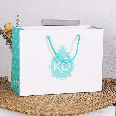 环保纸袋手提礼品袋子印刷定做定制logo富方厂家生产