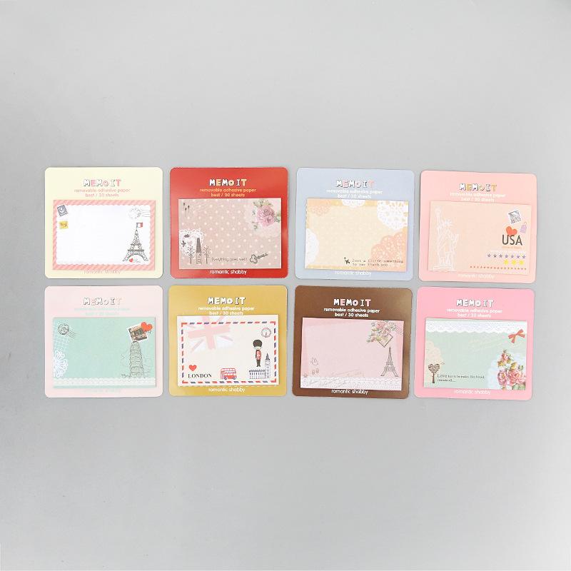 T Hàn Quốc văn phòng phẩm sáng tạo phim hoạt hình dễ thương ghi chú dính N lần này được đăng Hàn Quốc Taobao quà tặng bán buôn