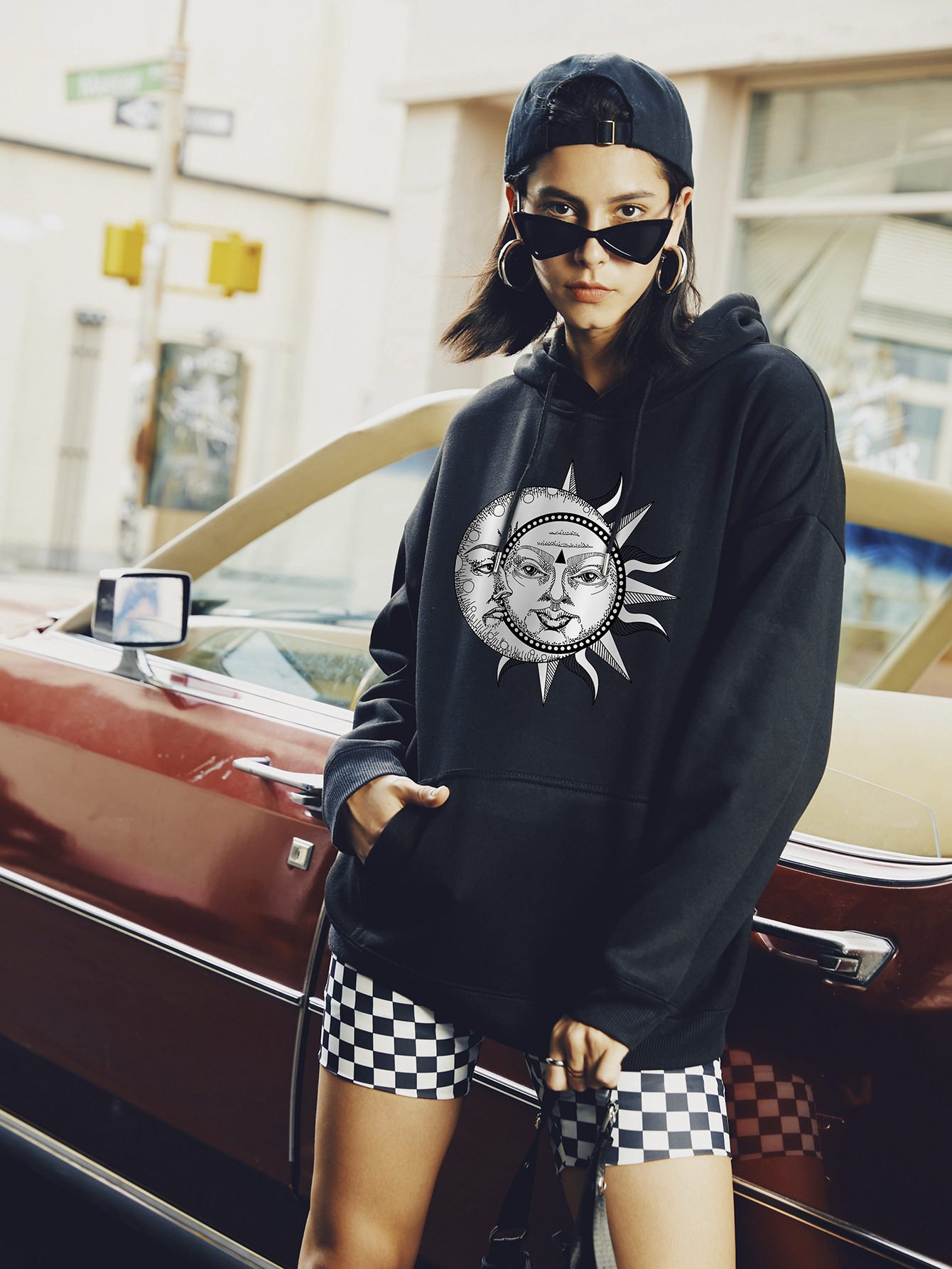 casual hooded hoodies for women NSSN1746
