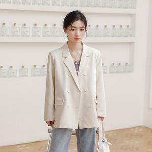 អាវធំ នារី Small Suit Jacket Female Loose Spring Korean Style PZ676703