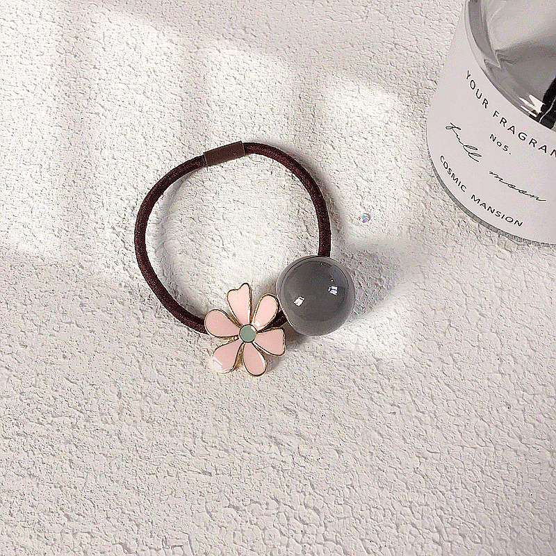 New spring and summer daisies maca dragon ball simple wild hair ring headband rubber band hair accessories headdress NHHI201280
