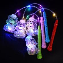厂家直销发光手提波波球手提发光投影灯笼爆款儿童玩具地摊批发