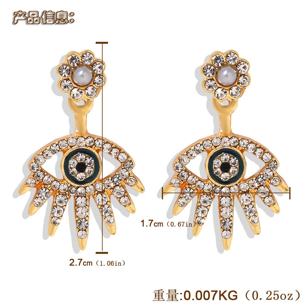 New Fashion Jewelry Earrings with Diamond Eye Tassel Earrings NHJQ205208