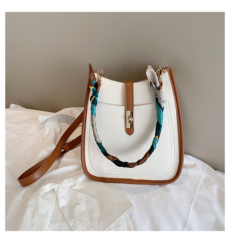 women bag large capacity new trendy scarf shoulder bag summer fashion tote bag wholesale nihaojewelry NHTC229054