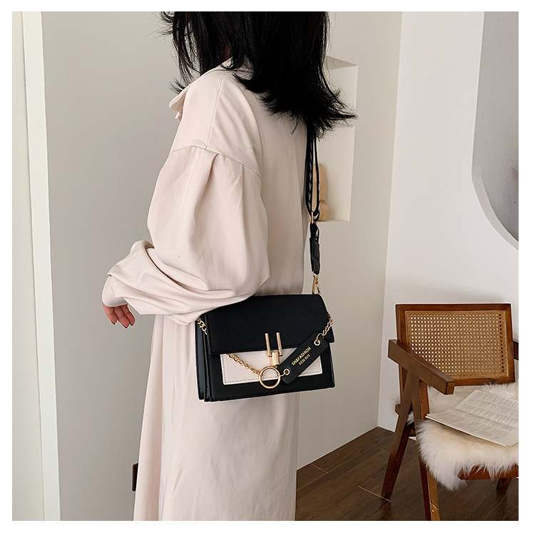 Hot selling fashion one-shoulder messenger fashion frosted small square bag NHLH260290