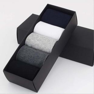 Four seasons men's socks sports business casual cotton socks 5 pairs gift box socks factory wholesale