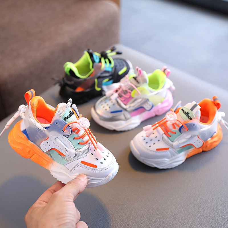 Baby shoes female 1-6 years old 3 young...