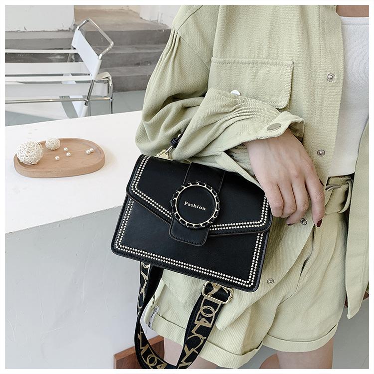 new trendy wild wide shoulder strap messenger bag  NHLH270262