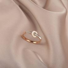 韩国百搭气质戒指钛钢罗马数字贝壳食指戒网红新款个性指环女手饰