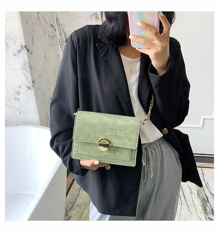 Chain bag popular new wave summer fashion shoulder messenger bag small square bag wholesale nihaojewelry NHTC229073