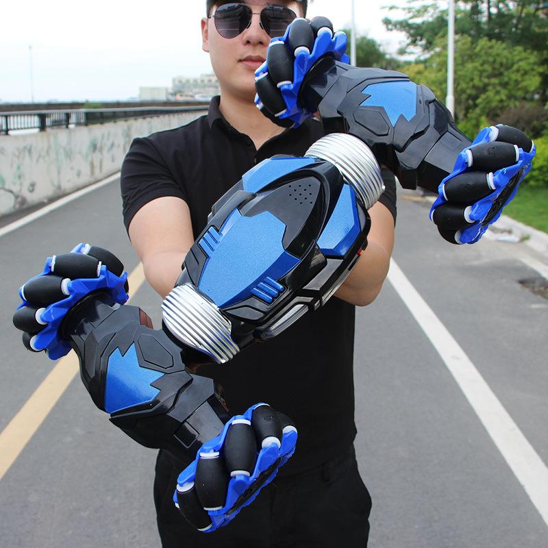 抖音同款手势感应特技扭变遥控车 横向漂移电动攀爬遥控玩具车