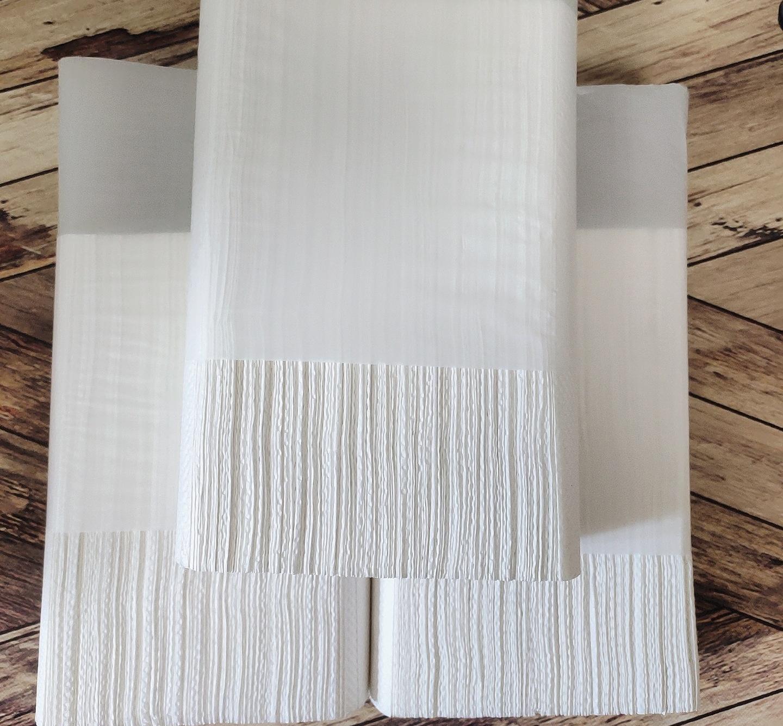 商用擦手纸酒店卫生间擦手纸抽纸厕所洗手间加厚三折擦手纸