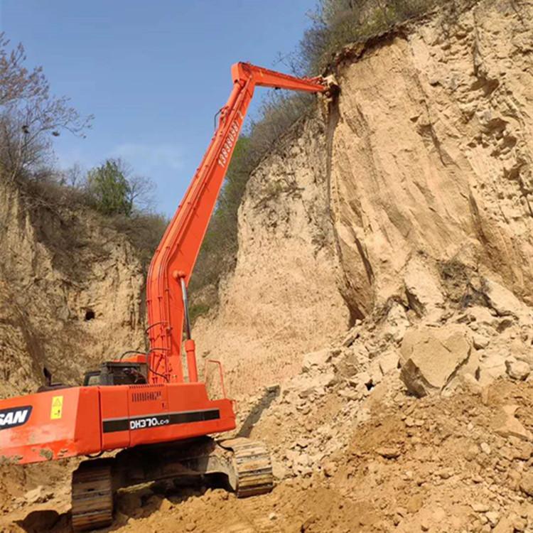 工厂定制拆楼臂挖掘机加长臂 河道清淤加长臂挖斗、大小臂齐全