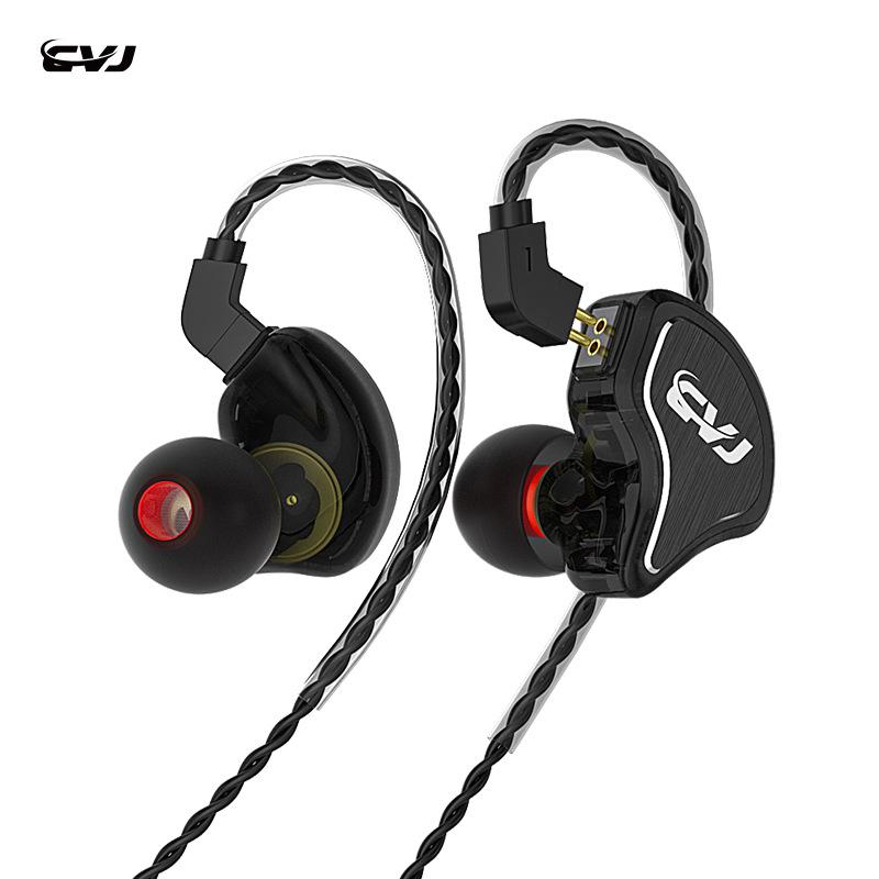 CVJ CS8八单元圈铁耳机高解析hifi入耳式可换线带麦降噪手机通用