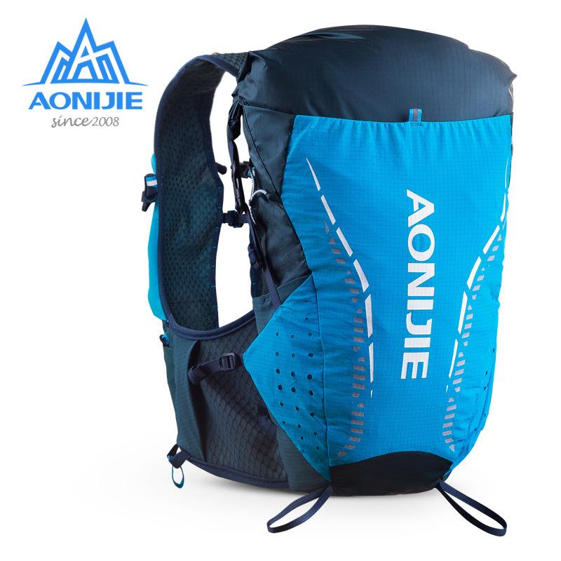 奥尼捷越野跑步包超轻户外双肩男女多功能水袋包骑行背包18L