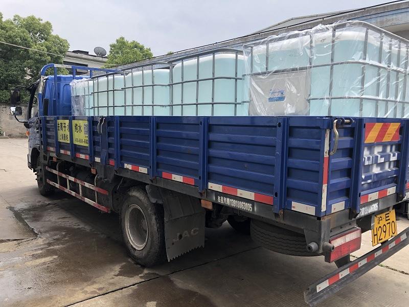厂家直销杭州 宁波水性涂料用工业去离子水 蒸馏水