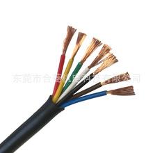 高柔線耐彎折TRVV22 24 26 28 30 40芯*0.3mm平方拖鏈專用電纜