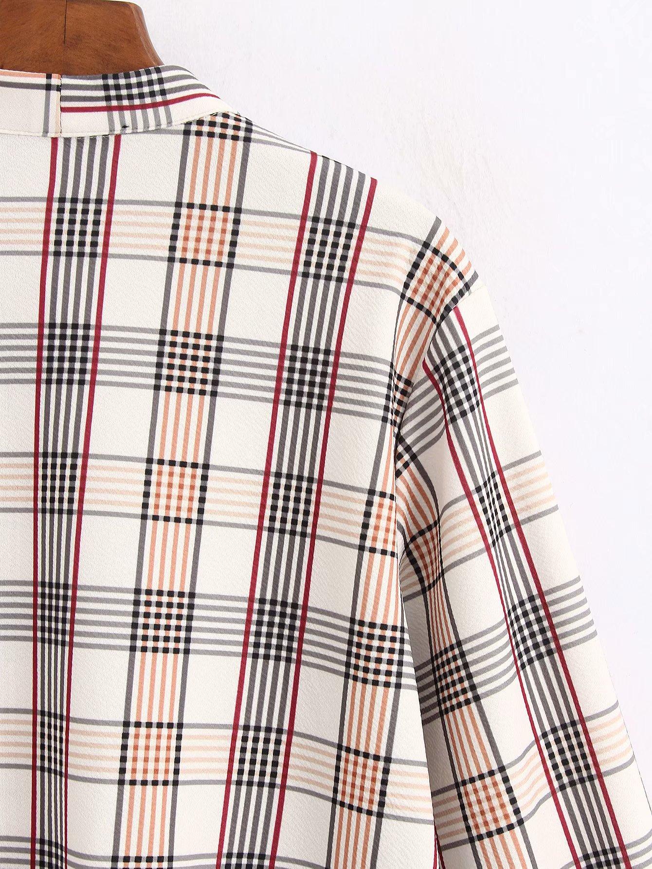 Fashion Wholesale new style led check shirt NHAM201563