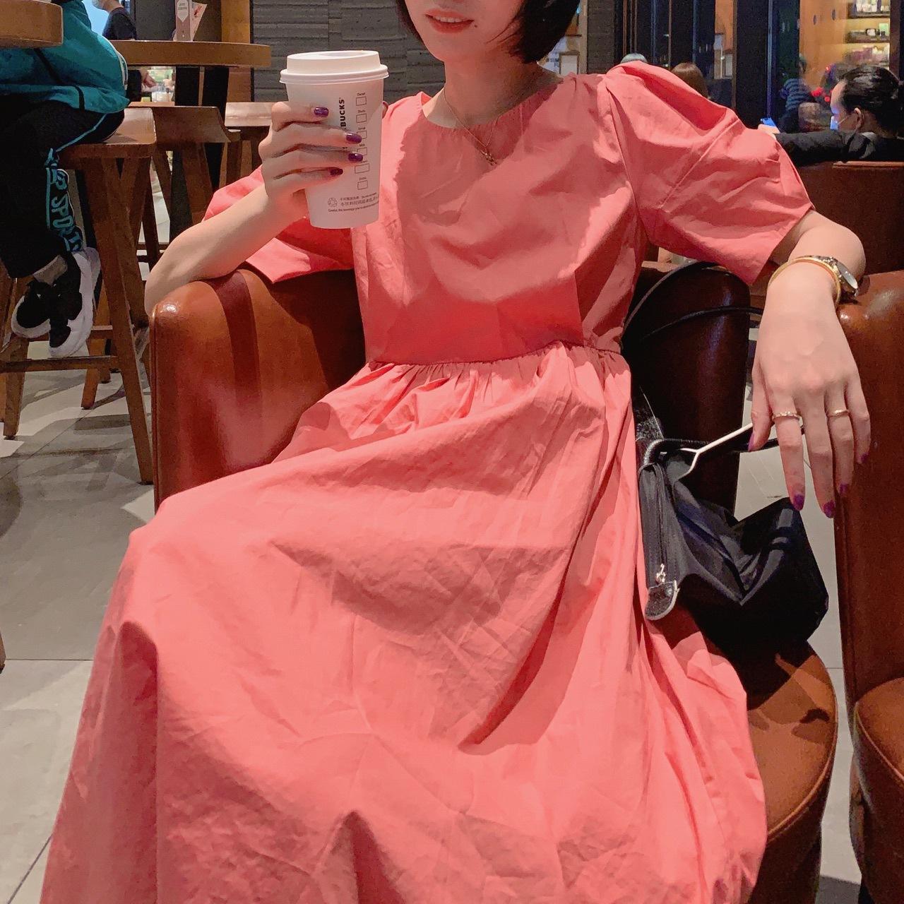 5273连衣裙 公主袖 不退不换图片微色差 实物美