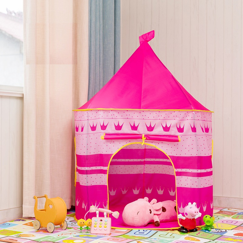 现货儿童帐篷室内外男女孩小房子家用帐篷宝宝躲猫猫过家家玩具屋