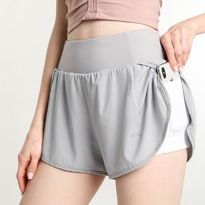 Lightweight quick drying sports yoga gyms shorts women yoga elastic running fitness pants women yoga YOGA SHORTS