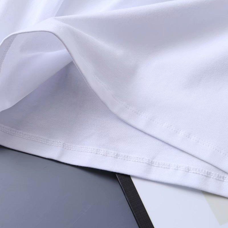 new cotton longsleeved Vneck Tshirt white bottoming shirt NHAM258612