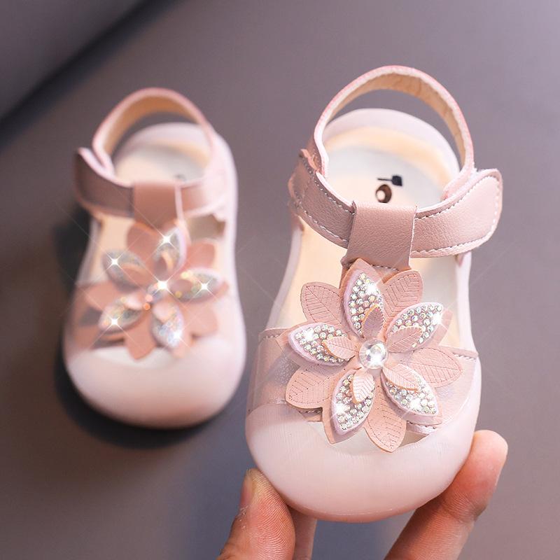 宝宝凉鞋女2020夏季婴儿鞋子软底1一3岁0-2小5女童公主学步鞋儿童