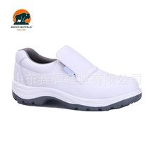 赛盾出口白色无尘室电子车间进口超纤防泼水防滑底食品药厂防护鞋