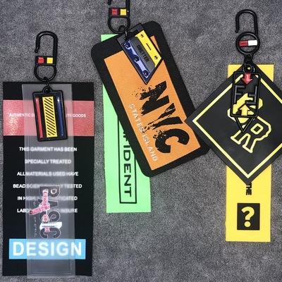 现货批发服饰辅料免费拿样DIY饰品PVC印花标挂饰挂件fzgs105-113