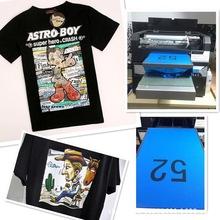 廠家直銷小型黑色全棉t恤童裝服裝印花打印機水性環保數碼直噴機