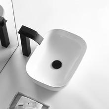 批发价供应酒店卫生间洗手盆陶瓷洗脸盆家用台上盆洗漱台面盆水池