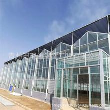 承接玻璃温室大棚 玻璃连栋温室建设 智能温室 生态餐厅温室