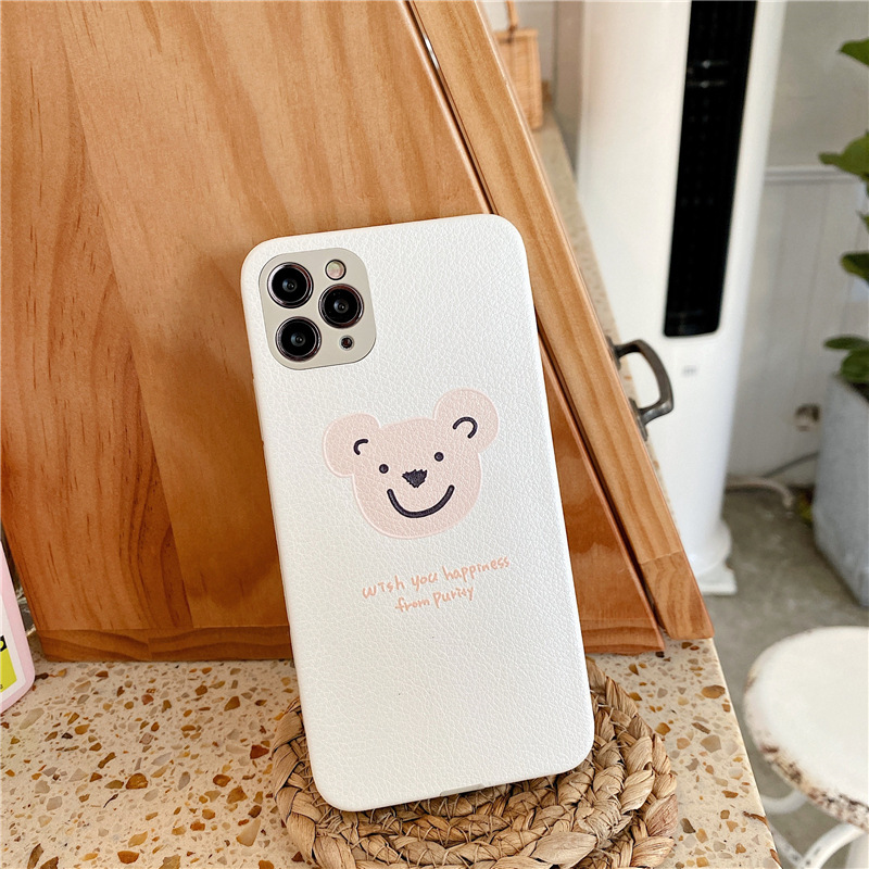 Cartoon mobile phone case for iPhone11pro Max silk embossed Apple se2 soft shell Huawei P40Pro NHFI253412