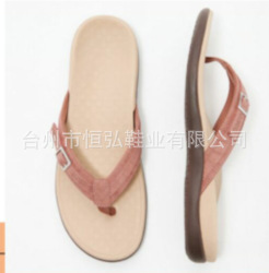 Independent station European and American large size flip flop women 2020 flat bottom anti-skid wear-resistant massage beach shoes