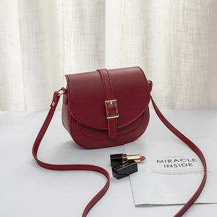 Belt saddle bag female bag 2021 new large-capacity mobile phone personality semi-set single shoulder messenger small bag gift
