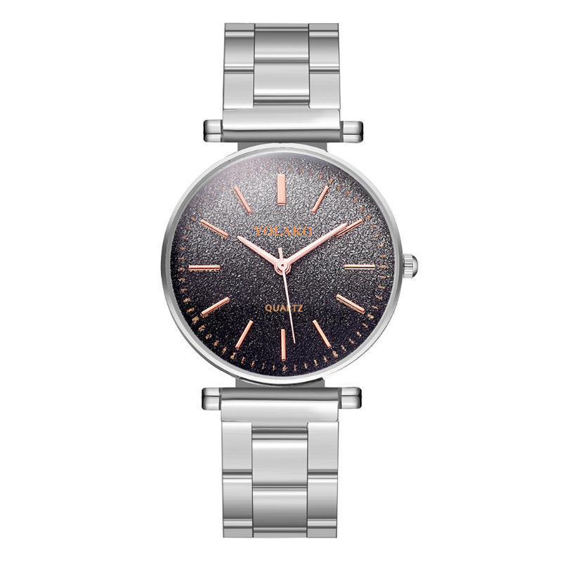 Korean Fashion Girl Stainless Steel Bracelet Watch Simple Slim Unisex Quartz Watch NHLN203992