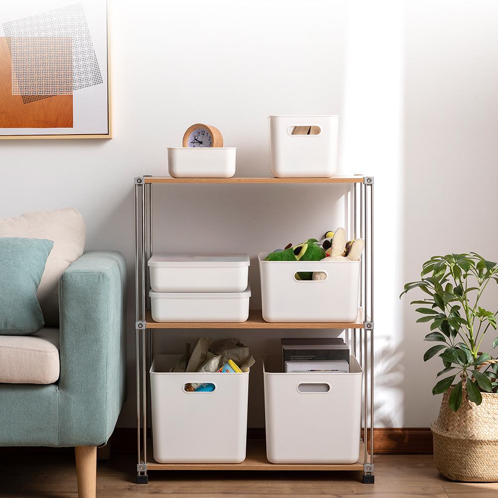 多规格收纳盒家居用品塑料盒化妆品桌面零食玩具整理收纳储物盒