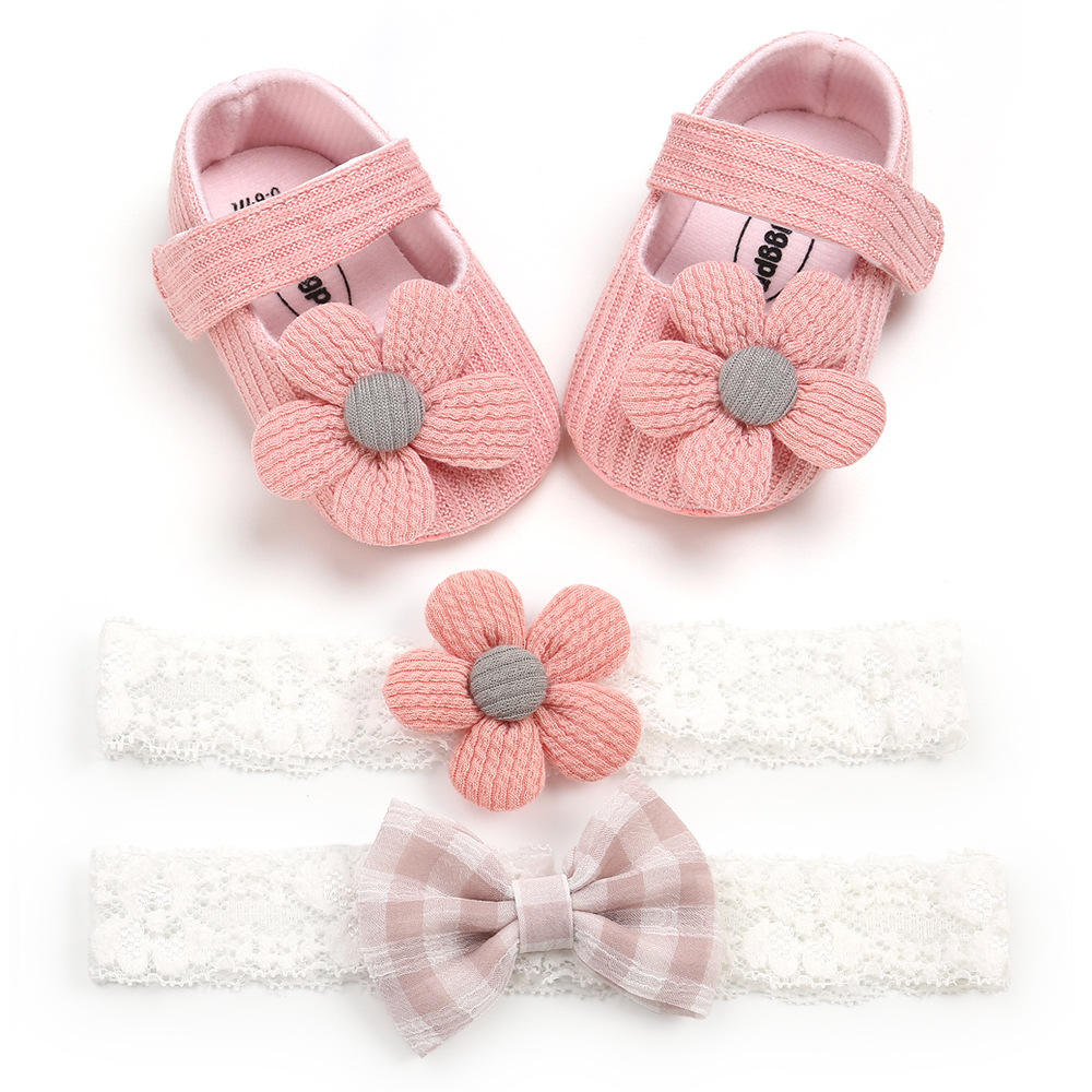 0-1 year old little flower baby shoes pr...