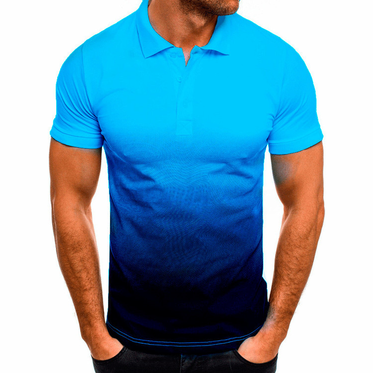 KB Men Polo Men Shirt Short Sleeve Polo Shirt Contrast Color Polo New Clothing Summer Streetwear Casual Fashion Men tops