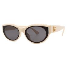 新款外贸个性小猫眼框时尚太阳镜女生欧美潮流网红墨镜吴亦凡同款