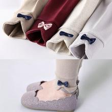 现货批发2021新款童装婴儿中小童女宝长裤儿童裤子外穿女童打底裤