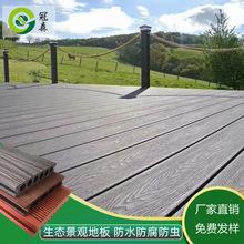 户外环保PE塑木地板 园林工程木塑材料防腐防水塑木厂家定制直销