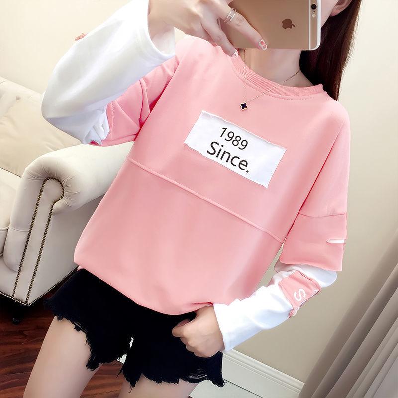 16秋装韩版少女13初中生15中学生14岁女孩上衣服小衫12长袖女T恤9