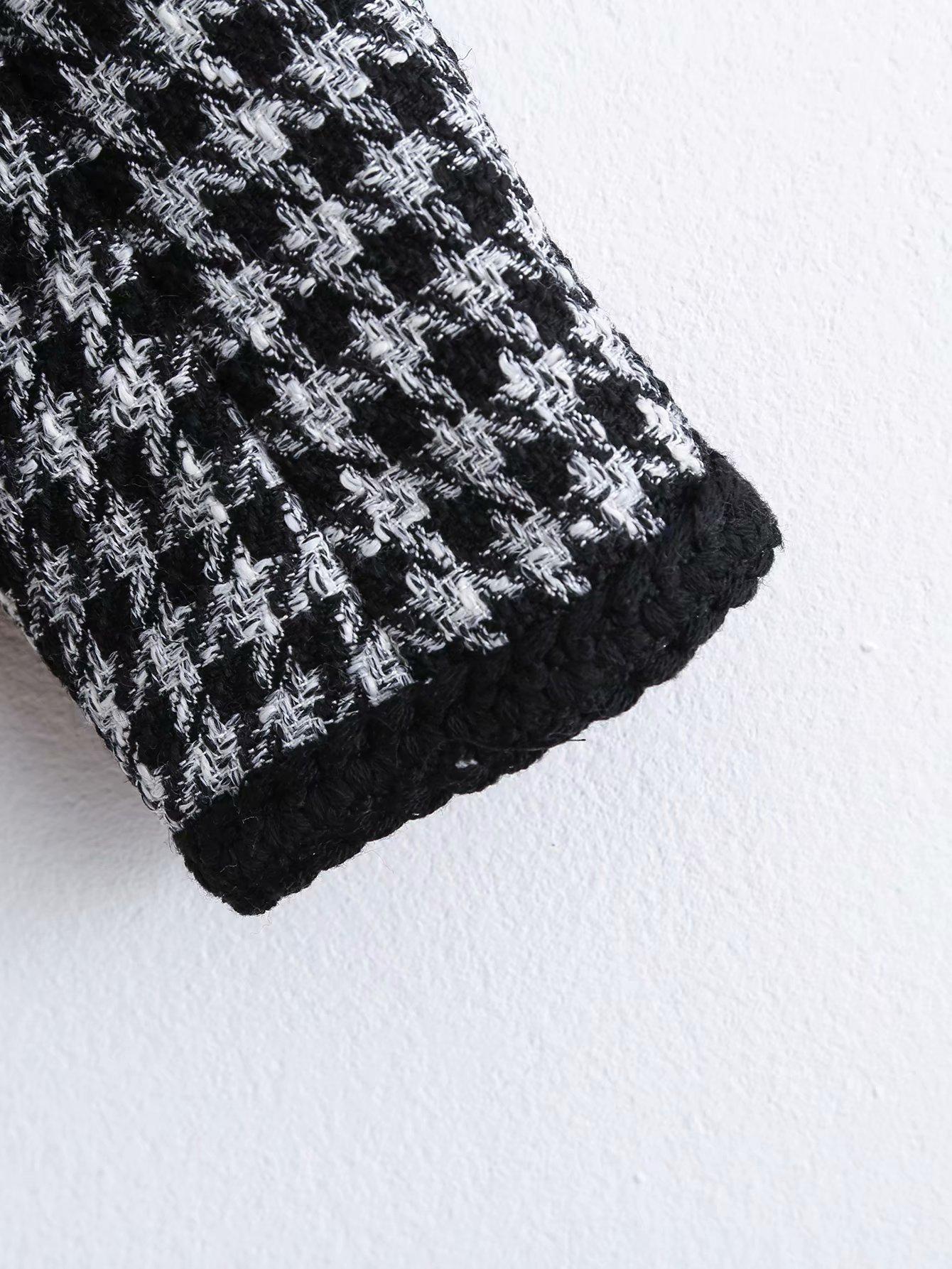 Wholesale Spring Tweed Women's Short Coat NHAM196342