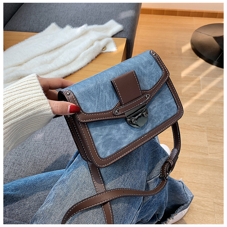 new color matching fashion one-shoulder messenger chain bag  NHJZ270385