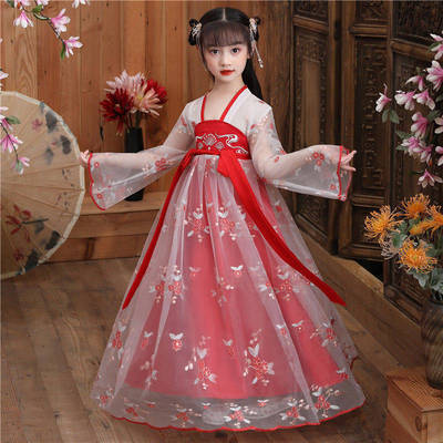 Children Chinese Hanfu fairy dress girl super FAIRY DRESS ancient clothes country children suit ancient fairy skirt