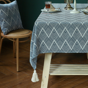 Tablecloth table cloth table cover Custom jacquard covered table
