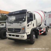 乡村道路商混车6方混凝土搅拌运输车 改装水泥砂浆输送罐厂家