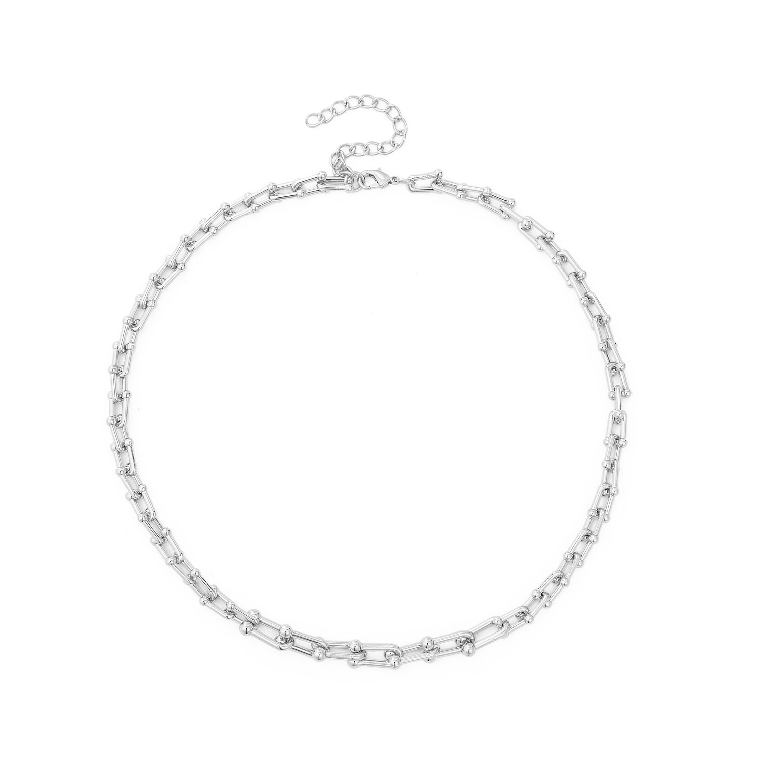 simple sweater chain necklace NHJJ278902